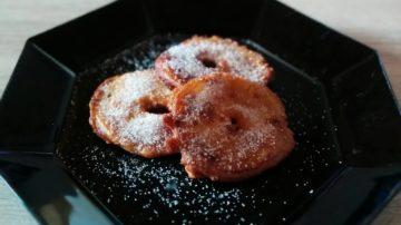 glutenfreie Apfelküchle